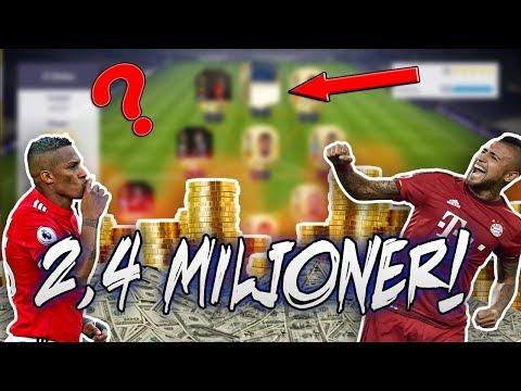 *MITT SJUKA 2,4 MILJONER LAG TILL WEEKEND LEAGUE!!   FIFA18 På Svenska