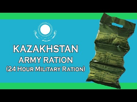 KAZAKHSTAN ARMY RATION