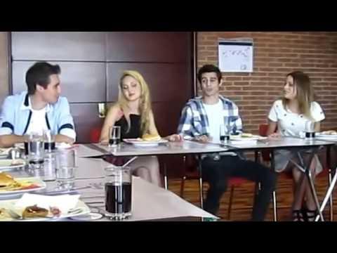 Martina Stoessel , Pablo Espinosa, Mercedes Lambre,Jorge Blanco cantano voy por ti