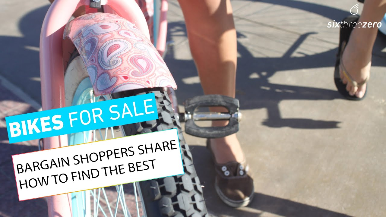 Bikes for Sale: Bargain Shoppers Share How to Find the Best