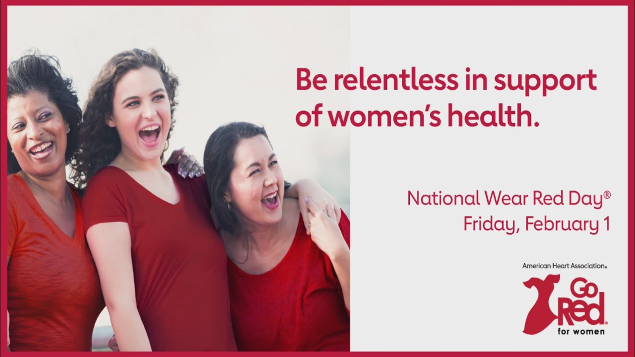 Kick off American Heart Month and wear red