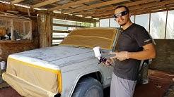 Painting Rustoleum Gloss White ( Jeep Cherokee )