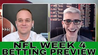NFL Opening Line Report | NFL Week 4 Betting Odds and Predictions with Drew Martin and Teddy Covers