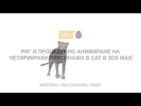 анимация леопард