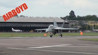 F-18 Super Hornet - Farnborough Airshow