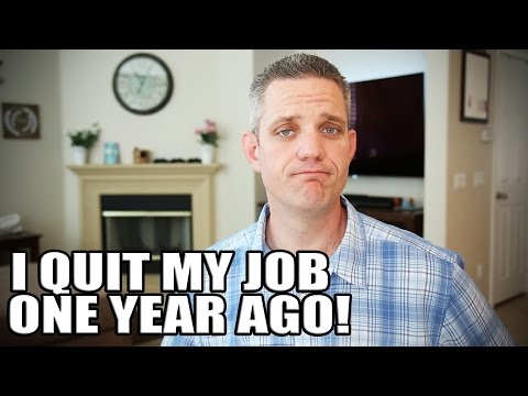 I quit my job for YouTube