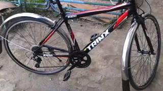 Установка крыльев на шоссейный велосипед  2(Крылья от велосипеда Урал., 2016-07-27T16:42:01.000Z)