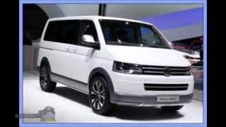 Авто новинки Германии 2015, Минивэны Германии Volkswagen Multivan
