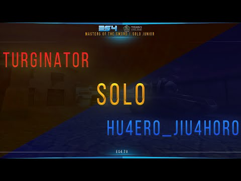 Masters of the Sword | Solo Junior | Turginator vs. Hu4erО_JIu4HОrО
