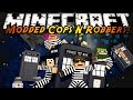 Minecraft Mini-Game : MODDED COPS N ROBBERS! DOCTOR WHO!