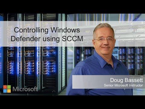 Controlling Windows Defender using SCCM - YouTube