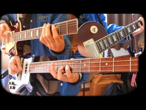 Immigrant Song (Guitar/Bass Cover) Led Zeppelin // Special 1000 Suscriptores!!!