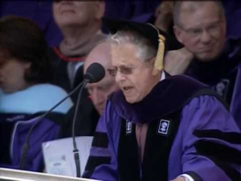 2008 NYU commencement (15/37) -- Laurence Tribe speech (1/2)