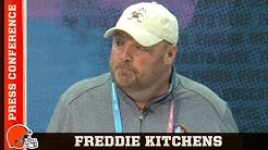 Coach Kitchens Talks About Kareem Hunt & Nick Chubb | Cleveland Browns