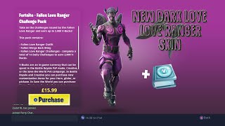 Brand new Fortnite Fallen Love Ranger Skin Pack!!