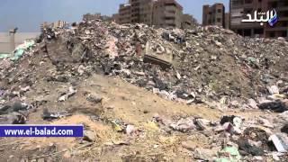 بالفيديو والصور.. القمامة تحتل مطار إمبابة وسط تجاهل المسئولين