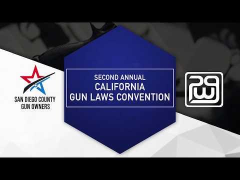 2018 California Gun Laws Convention - Legal Panel