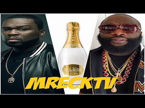 50 Cent Disses Rick Ross Belaire Champagne Calls It Bum Juice, While Getting Drunk Wine Tasting