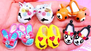 5 DIY Miniature Shoes, Sandals and Boots || Hacks and Crafts
