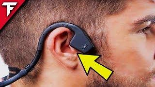 Diese Kopfhörer VIBRIEREN IN DEINEN KNOCHEN! Bone Conduction Headphones | TechFloyd