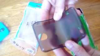 Чехол-бампер для смартфона Lenovo a820  (обзор)