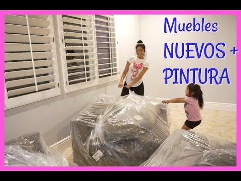 COMPRAMOS MUEBLES NUEVOS PARA  LA CASA NUEVA!! -Vlogs diarios- Jackie Hernandez
