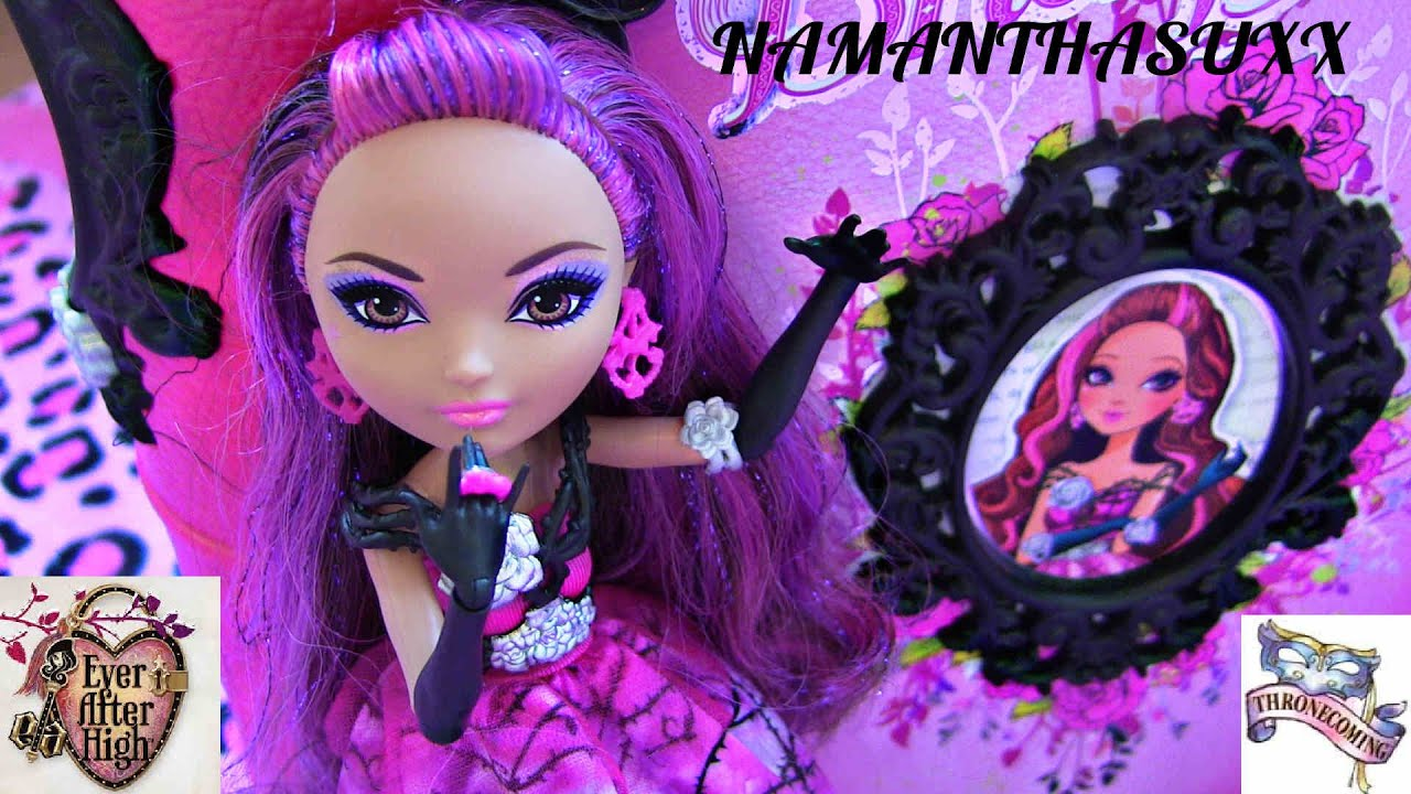 EVER AFTER HIGH BRIAR BEAUTY THRONECOMING BOOK PLAYSET