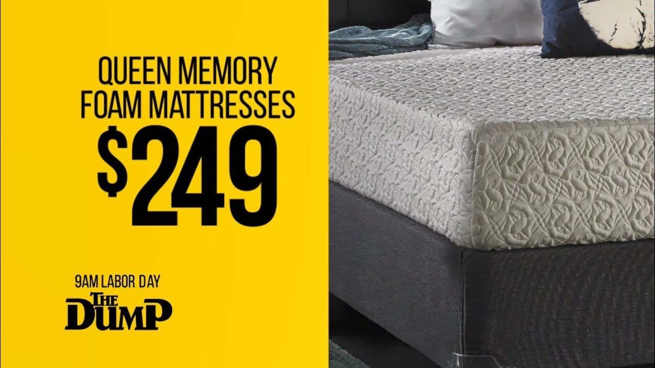 9am Labor Day Blow Up The Dump Mattress Store Youtube