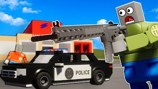COPS VS ROBBERS IN THE NEW UPDATE! - Brick Rigs Multiplayer Police Chases