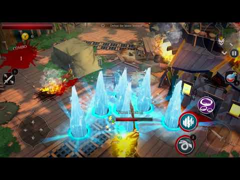 Dungeon Hunter: Curse Of Heaven – Official Gameplay Reveal Trailer