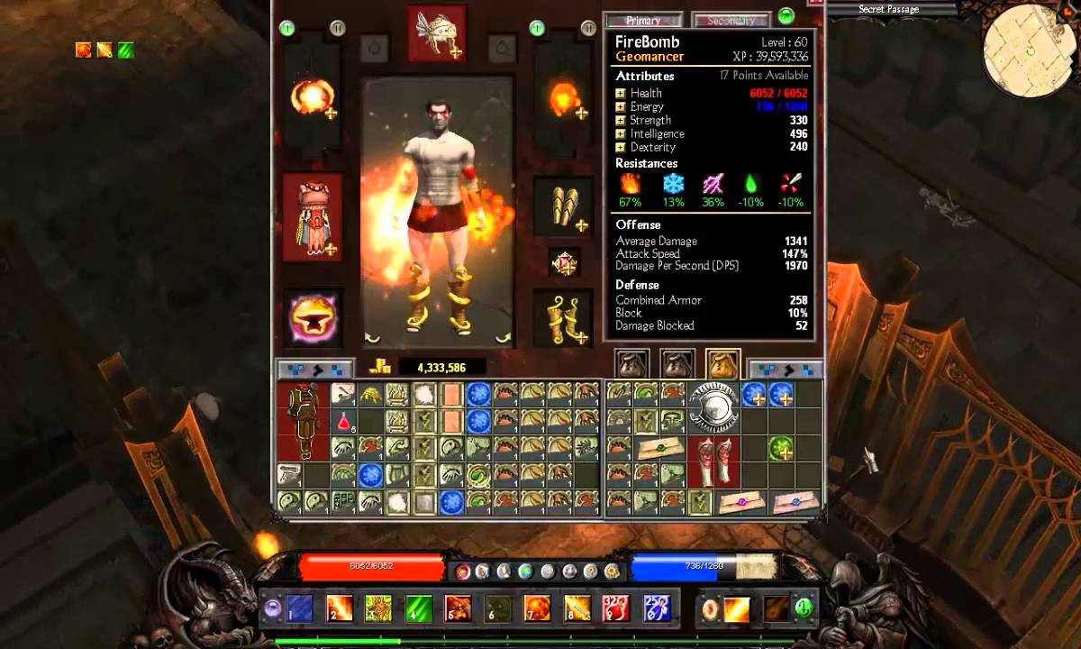 how to get activate ragnorok in titan quest