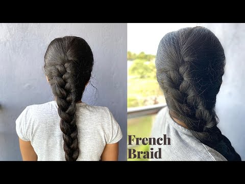 french-braid-hairstyle-for-beginners-|-how-to-french-braid-your-long-hair-|-nandyspages