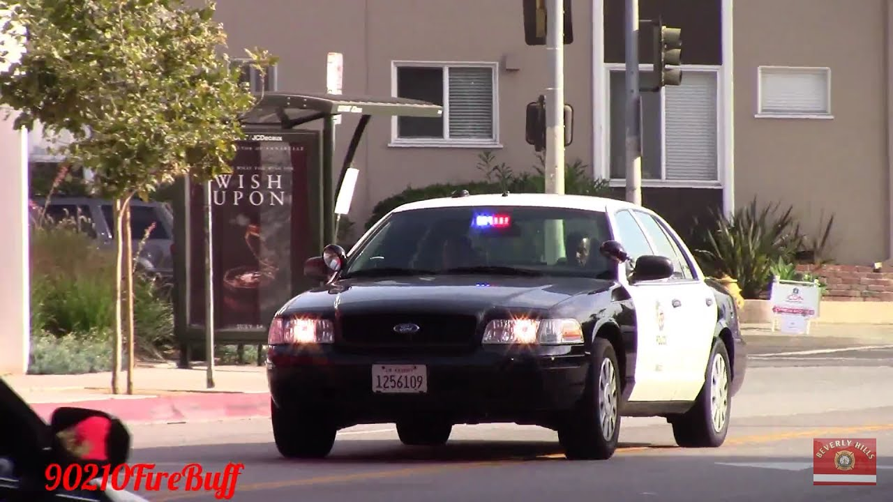 Lapd Dodge Charger Slicktop Crown Vic Responding Code 3 Youtube