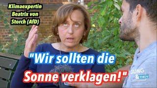 Klimaexpertin Beatrix von Storch (AfD) will die Sonne verklagen