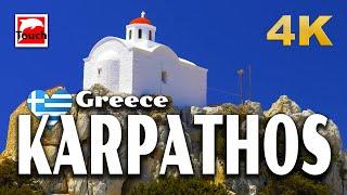 KARPATHOS, Greece ► Video Guide, 51 min. 4K ► Melissa Travel
