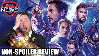 Avengers: Endgame Review - NO SPOILERS!