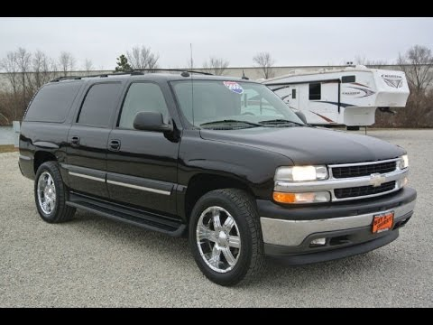 2005 chevrolet suburban lt for sale dayton troy piqua sidney ohio cp14101at youtube. Black Bedroom Furniture Sets. Home Design Ideas