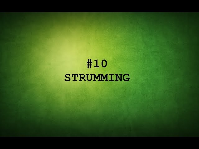 TAMIL GUITAR LESSONS-#10-STRUMMING PATTERNS.