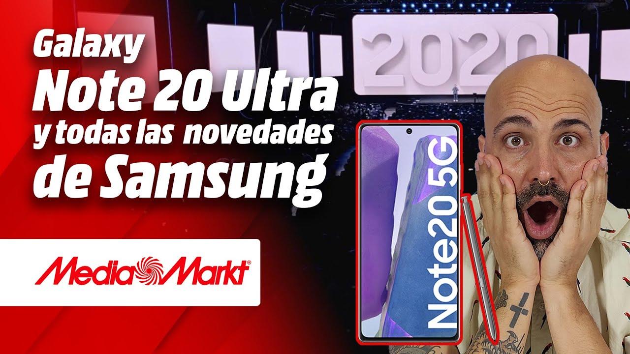 ¡Samsung GALAXY NOTE 20 y todas las novedades del Unpacked 2020!