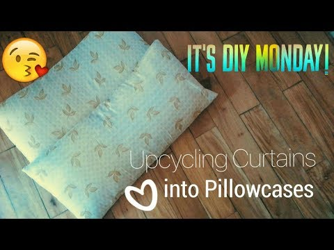 Upcycling Used Curtains