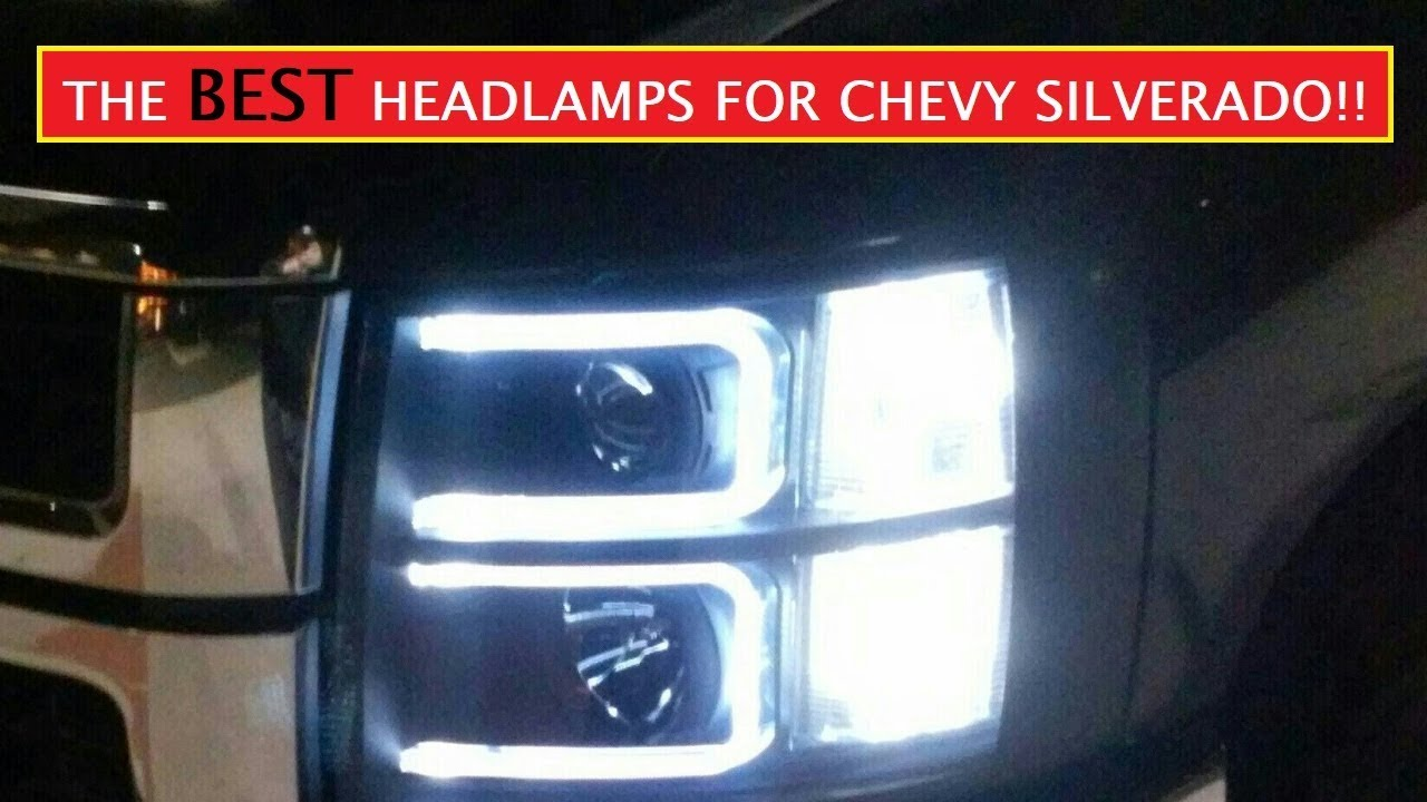 07-13 Silverado projector headlamps - headlights installed ...