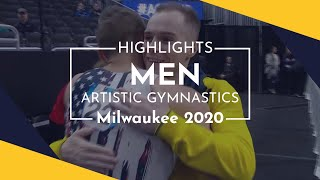 2020 Milwaukee Artistic Gymnastics World Cup – Highlights men's competition