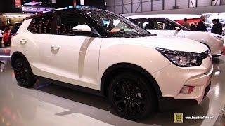 2015 Ssang Yong Tivoli - Exterior And Interior Walkaround - 2015 Geneva Motor Show