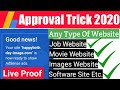 Gambar cover How to Get Adsense Approval | Any Website AdSense Approval Trick 2020