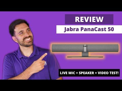 Download Jabra PanaCast 50 In-Depth Review - LIVE MIC + SPEAKER + VIDEO TEST!