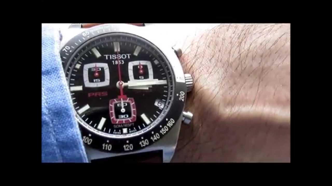 Tissot PRS 516 Chronograph Wrist Watch