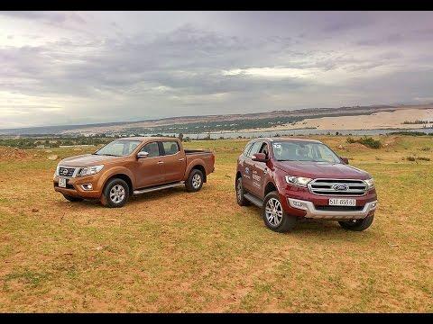 Otosaigon - Đánh giá Ford Everest vs Nissan Navara EL