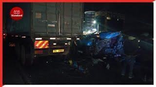 Four killed in road crash along Mombasa road
