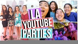 Beautycon Kick off Party, YouTubers, Weird Uber Driver | LA Day 1 Vlog | JensLife