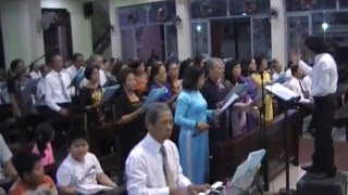 Ca Đoàn Đức Mẹ_Lễ bổn mạng - Mừng Đức Mẹ Vô nhiễm và 40 năm thành lập _2015_GIAO XU NAM THAI SG